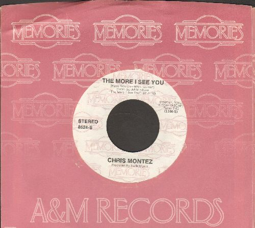 Montez, Chris - The More I See You/There Will Never Be Another You (double-hit re-issue with company sleeve) - M10/ - 45 rpm Records