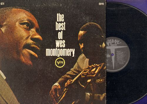 Montgomery, Wes - The Best Of: Tequila, Goin' Out Of My Head, End Of A Love Affair, Caravan (vinyl STEREO LP record, gate-fold cover) - EX8/VG6 - LP Records