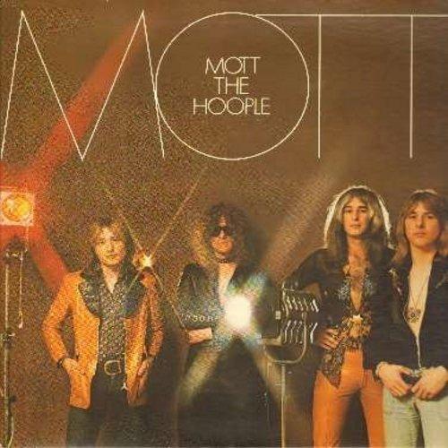 Mott The Hoople - Mott: Whizz Kid, Hymn For The Dudes, Violence, Honaloochie Boogie, Drivin' Sister, Ballad Of Mott The Hopple (Vinyl STEREO LP record, gate-fold cover) - VG7/VG7 - LP Records
