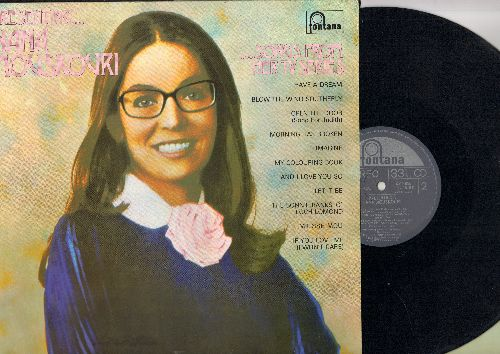 Mouskouri, Nana - Presenting…Nana Mouskouri…Songs From Her TV Series: I have A Dream, Imagine, Let It Be, Morning Has Broken (Vinyl STEREO LP record, Canadian Pressing) - EX8/NM9 - LP Records