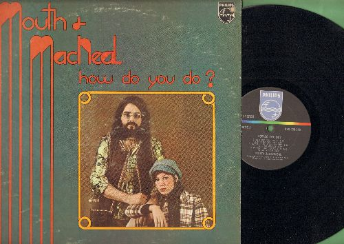 Mouth & McNeil - How Do You Do?: I Heard It Through The Grapevine, Remember (Walking In The Sand), A.B.C., Isolation (vinyl STEREO LP record) - EX8/VG7 - LP Records
