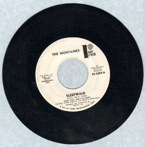 Montaines - Sleepwalk (ULTRA-DREAMY Mellow Jazz version of the Santo & Johnny Classic!)/The Little Old Winemaker - NM9/ - 45 rpm Records