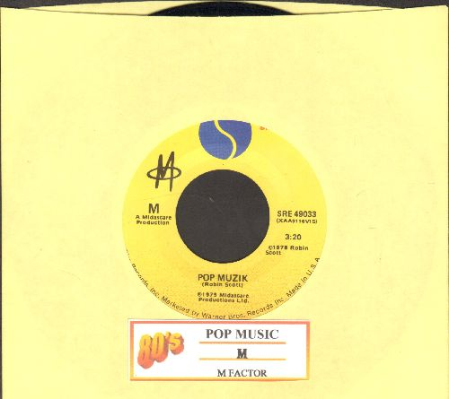 M - Pop Music/M Factor (with juke box label) - NM9/ - 45 rpm Records