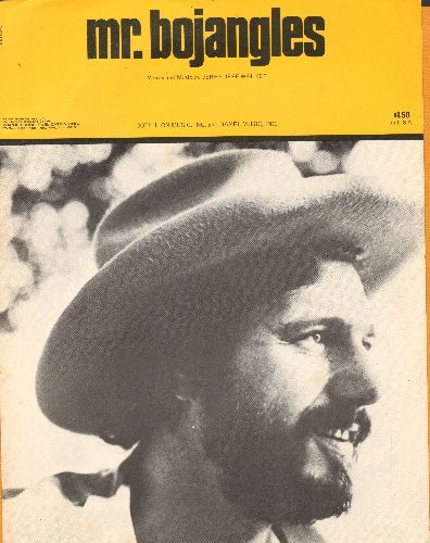 Walker, Jerry Jeffrey - Mr. Bojangles - Vintage SHEET MUSIC of the Southern Rock Classic - EX8/ - Sheet Music