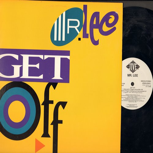 Mr. Lee - Get Off - 12 inch vinyl Maxi Single featuring 4 Extended Dance Mixes of the 1992 Dance Club cover of the 1978 Foxy Funk Classic - NM9/NM9 - LP Records