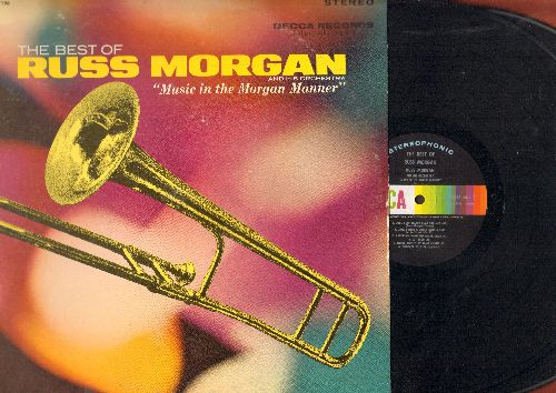 Morgan, Russ & His Orchestra - The Best Of - Music In The Morgan Manner: Dance With A Dolly, Bye Bye Blackbird, Hoop-Dee-Doo, The Poor People Of Paris, Dogface Soldier (2 vinyl STEREO LP records, gate-fold cover) - NM9/EX8 - LP Records