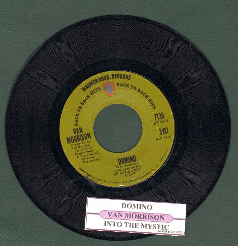 Morrison, Van - Domino/Into The Mystic (early double-hit re-issue with juke box label) - NM9/ - 45 rpm Records