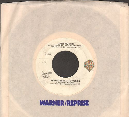 Morris, Gary - The Wind Beneath My Wind/The Way I Love You Tonight (with company sleeve) - NM9/ - 45 rpm Records