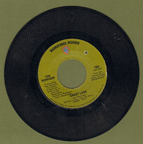 Morrison, Van - Come Running/Crazy Love (bb) - VG7/ - 45 rpm Records
