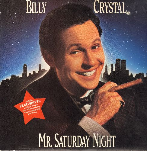 Mr. Saturday Night - Mr. Saturday Night - The Comedy Classic starring Billy Crystal and Helen Hunt on 2 LASERDISC (These are LASERDISCS, not any other kind of media!) - NM9/VG7 - LaserDiscs