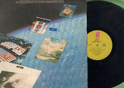 MFSB - End Of Phase I: Philadelphia Freedom, Freddie's Dead, TSOP (The Sound Of Philadelphia), T.L.C. (tender Lovin' care) (vinyl STEREO LP record) - NM9/VG7 - LP Records