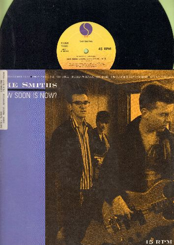 Smiths - How Soon Is Now? (6:43 minutes Long Version)/Girl Afraid (2:46)/How Soon Is Now (3:53) (12 inch vinyl Maxi Single wit picture cover, soc) - EX8/EX8 - LP Records