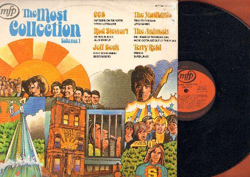 Stewart, Rod, Yardbirds, Animals, C.C.R., Terry Reid, Jeff Beck - The Most Collection Vol. 1: House Of The Rising Sun, Whole Lotta Love, Friends, Jailhouse Rock, Beck's Bolero (vinyl STEREO LP record, German Pressing) - NM9/VG7 - LP Records