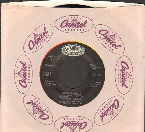 Murray, Anne - I'm Happy Just To Dance With You/Could I Have This Dance (double-hit re-issue with Capitol company sleeve)) - NM9/ - 45 rpm Records