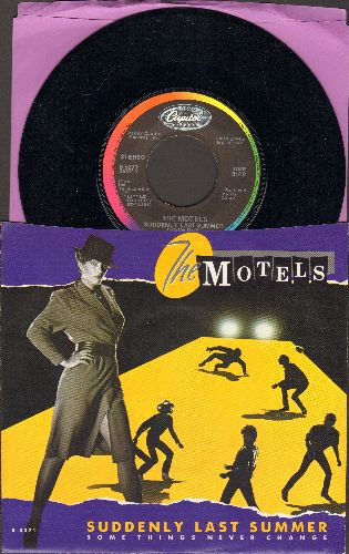 Motels - Suddenly Last Summer/Some Things Never Change (with picture sleeve) - NM9/NM9 - 45 rpm Records