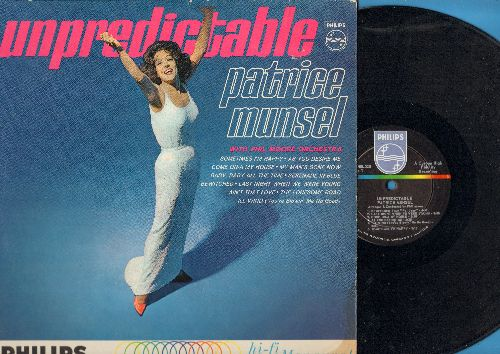 Munsel, Patrice - Unpredictable: Come On-A My House, Bewitched, The Lonesome Road, My Man's Gone Now (vinyl MONO LP record) - NM9/EX8 - LP Records
