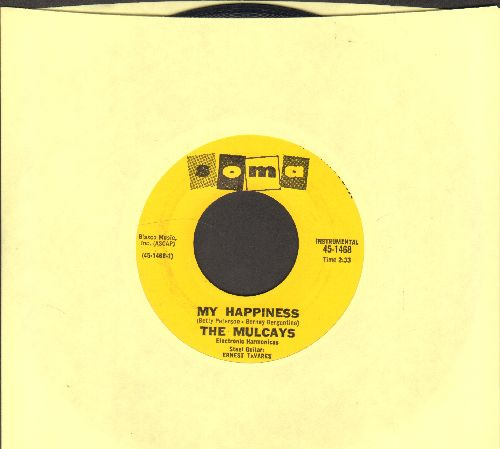 Mulcays - My Happiness/Near You - EX8/ - 45 rpm Records