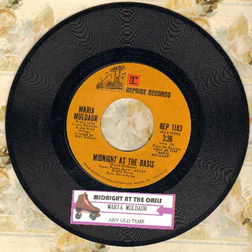 Muldaur, Maria - Any Old Time/Midnight At The Oasis (with juke box label) - NM9/ - 45 rpm Records