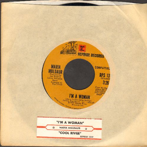 Muldaur, Maria - I'm A Woman/Cool River (with juke box label and company sleeve) - NM9/ - 45 rpm Records