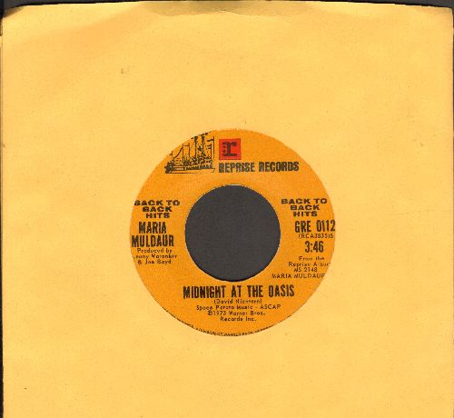 Muldaur, Maria - Midnight At The Oasis/Don't You Feel My Leg (Don't You Make Me High) early double-hit re-issue) - NM9/ - 45 rpm Records