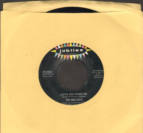 Mulcays - Love Me Forever/Canadian Sunset - EX8/ - 45 rpm Records