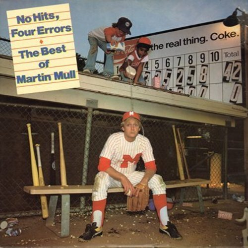 Mull, Martin - No Hits, Four Errors - The Best Of Martin Mull - includes Margie The Midget, Jesus Is Easy, Ukelele Blues, Dueling Tubas (Vinyl STEREO LP record) - M10/EX8 - LP Records