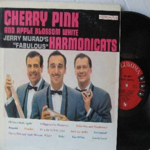 Murad, Jerry Harmonicats - Cherry Pink And Apple Blossom White: Kiss Of Fire, Mack The Knife, Fascination, Ramona, It's A Sin To Tell A Lie (Vinyl MONO LP record) - EX8/EX8 - LP Records