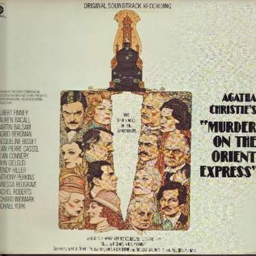 Murder On The Orient Express - Murder On The Orient Express - Original Motion Picture Sound Track, Music by Richard Rodney Bennet (Vinyl STEREO LP record) - NM9/EX8 - LP Records