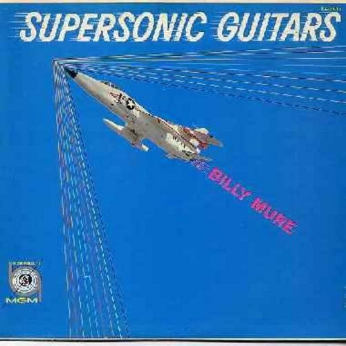 Mure, Billy - Supersonic Guitars: Guitars In Space, Pennies From Heaven, High Tide Boogie, Granada, Marie (Vinyl MONO LP record) - EX8/EX8 - LP Records