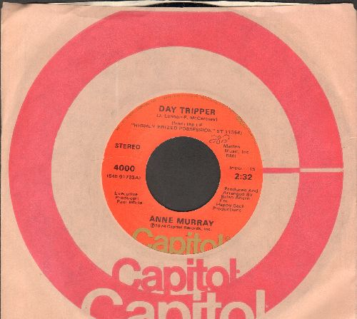 Murray, Anne - Daydream Believer/Do You Think Of Me (with Capitol company sleeve) - NM9/ - 45 rpm Records