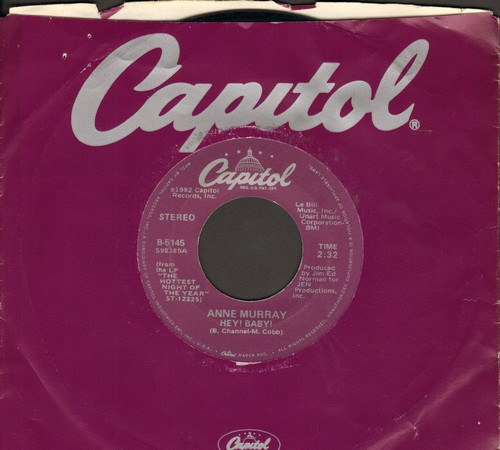 Murray, Anne - Hey! Baby!/Song For The Mira (with Capitol company sleeve) - NM9/ - 45 rpm Records