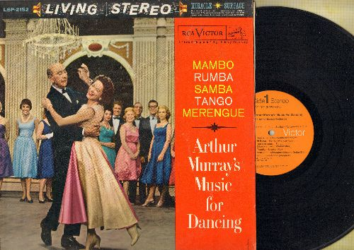Murray, Arthur Music For Dancing - Mambo - Rhumba- Samba - Tango - Merengue (Vinyl STEREO LP record, 1970s pressing) - NM9/EX8 - LP Records