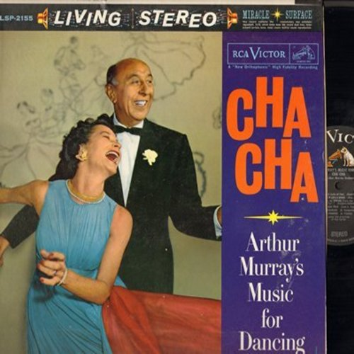 Murray, Arthur Music For Dancing - Cha Cha: Watermelon Heart,Cha Cha Cha At The Harem, Cha Cha Baby, Misirlou, Pancho (Vinyl STEREO LP record) - NM9/EX8 - LP Records