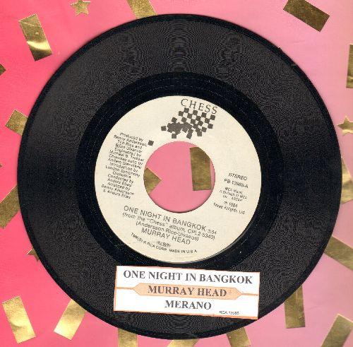 Head, Murray - One Night In Bangkok/Merano (with juke box label) - NM9/ - 45 rpm Records