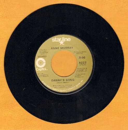 Murray, Anne - Danny's Song/Cotton Jenny (double-hit re-issue) - NM9/ - 45 rpm Records
