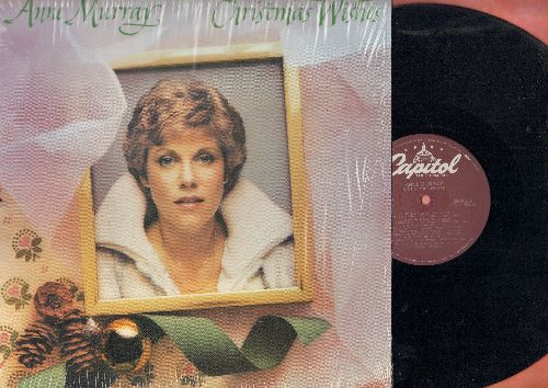 Murray, Anne - Christmas Wishes: Winter Wonderland, Silent Night, Silver Bells, Joy To The World, O Holy Night (vinyl LP record) - NM9/NM9 - LP Records