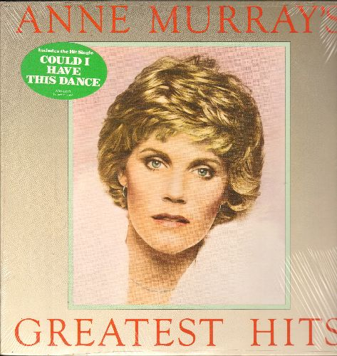 Murray, Anne - Greatest Hits: Snowbird, You Needed Me, Shadows In The Moonlight, Daydream Believer, Could I Have This Dance (Vinyl STEREO LP record, SEALED, never opened!) - SEALED/SEALED - LP Records