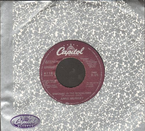 Murray, Anne - Shadows In The Moonlight/Yucatan Café (with Capitol company sleeve) - EX8/ - 45 rpm Records
