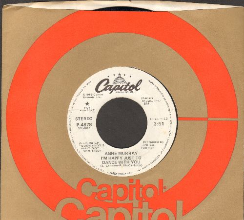 Murray, Anne - I'm Happy Just To Dance With You (double-A-sided DJ advance pressing with Capitol company sleeve) - NM9/ - 45 rpm Records