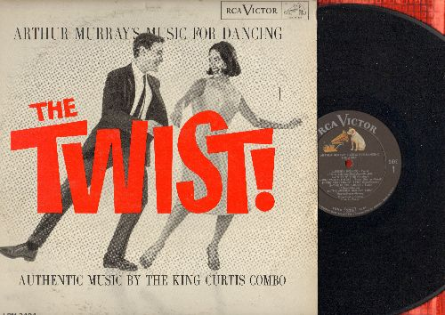 Curtis, King Combo - The Twist!: The Fly, Let's Twist Again, The Huckle-Buck, Arthur Murray Twist, Jersey Bounce (Vinyl STEREO LP record) - EX8/EX8 - LP Records