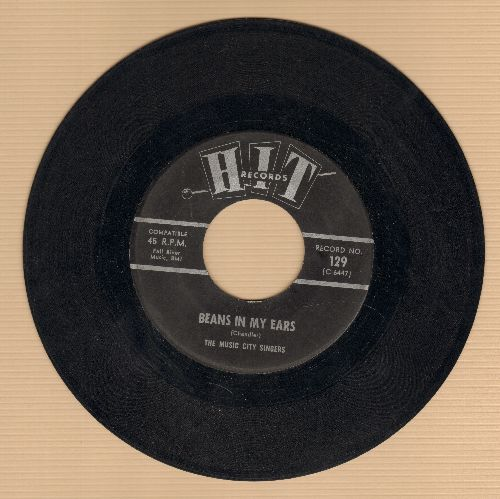 Music City Singers - Beans In My Ears/Today (contemporary cover version) - VG7/ - 45 rpm Records