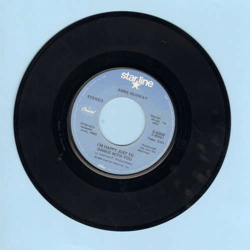 Murray, Anne - I'm Happy Just To Dance With You/Could I Have This Dance (double-hit re-issue) - NM9/ - 45 rpm Records