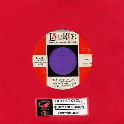 Music Explosion - Little Bit O' Soul/I See The Light (with juke box label) - EX8/ - 45 rpm Records