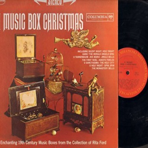 Music Box Christmas - A Music Box Christmas - Enchanting 19th Century Music Boxes from the collection of Rita Ford (Vinyl STEREO LP record) - EX8/VG7 - LP Records