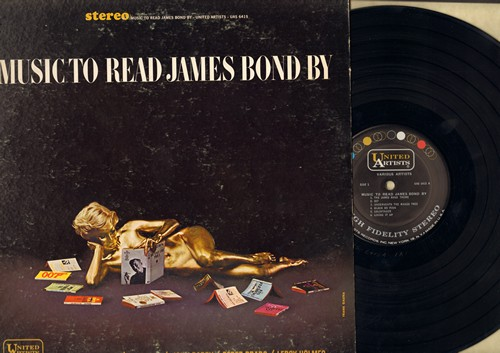 Ferrante & Teicher, John Barry, Perez Prado, Al Caiola, others - Music To Read James Bond By: The James Bond Theme, 007, Goldfinger, Golden Girl, From Russia With Love (vinyl STEREO LP record) - EX8/VG7 - LP Records