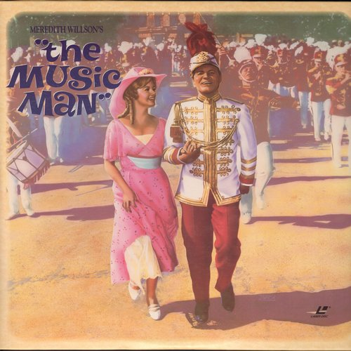 Music Man, The - The Music Man - The 1962 film version of the Broadway Hit on 2 LASERDISCs  (These are LASERDISCS, not any other kind of media!) - NM9/NM9 - LaserDiscs