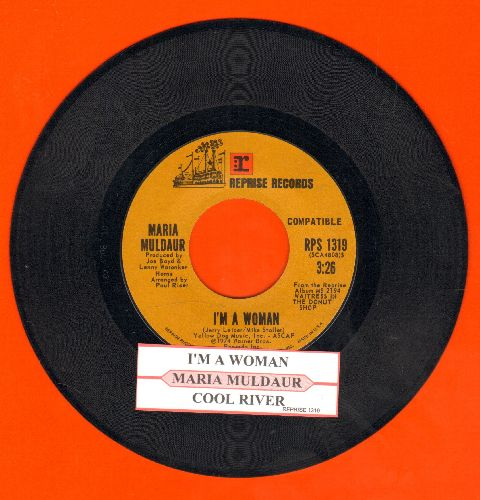 Muldaur, Maria - I'm A Woman/Cool River (with juke box label) - NM9/ - 45 rpm Records