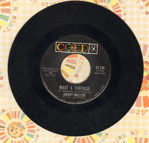 Maestro, Johnny - What A Surprise/The Warning Voice - EX8/ - 45 rpm Records