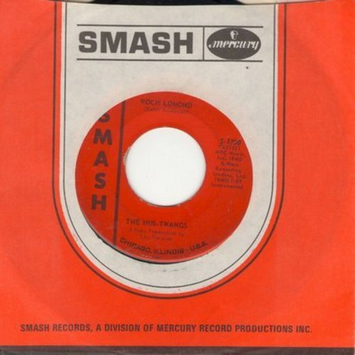 Mus-Twangs - Roch Lemond (Instrumental Drag-Surf version of the Scottish folk song)/Marie (with Smash company sleeve) - VG7/ - 45 rpm Records
