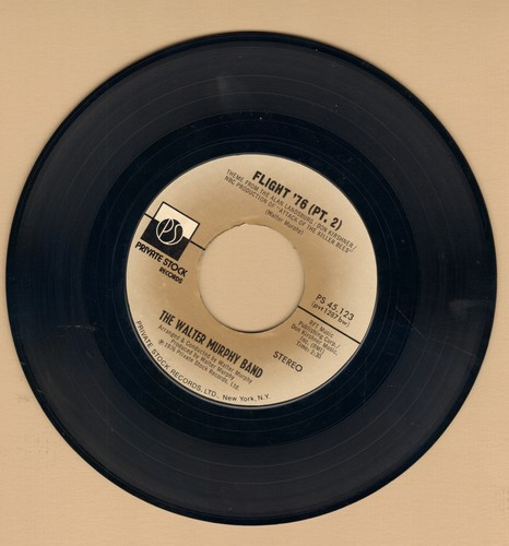Murphy, Walter Band - Flight '76 (Parts 1 + 2)  (based on -Flight Of The Bumble Bee-) (with juke box label) - NM9/ - 45 rpm Records
